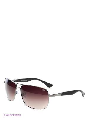 Солнцезащитные очки Legna. Цвет: коричневый, серый