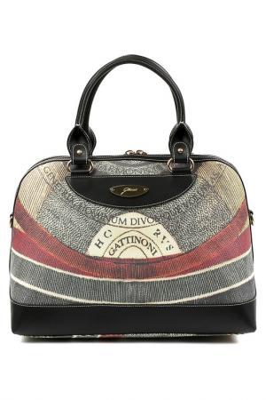 Bag Gattinoni. Цвет: black, beige, red