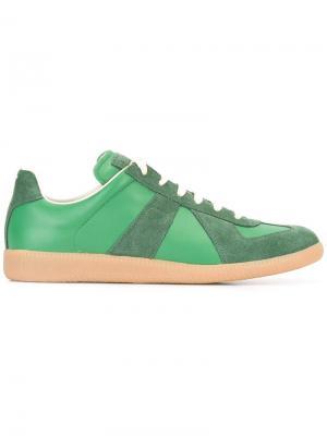 Кроссовки Replica Maison Margiela. Цвет: зелёный