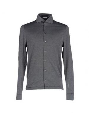 Pубашка ZANIERI. Цвет: черный
