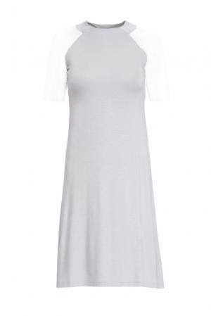 Трикотажное платье 146148 Firkant. Цвет: синий