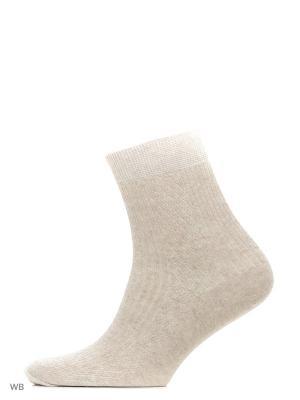Носки, 5 пар Модекс. Цвет: бежевый