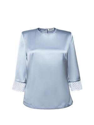 Блузка APRELLE. Цвет: светло-серый