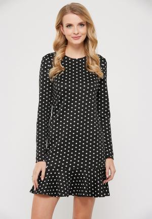 Платье Verna Sebe. Цвет: черный