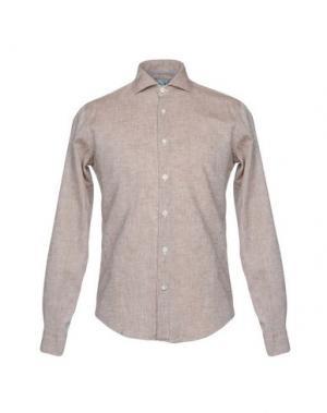 Pубашка BARBATI. Цвет: коричневый