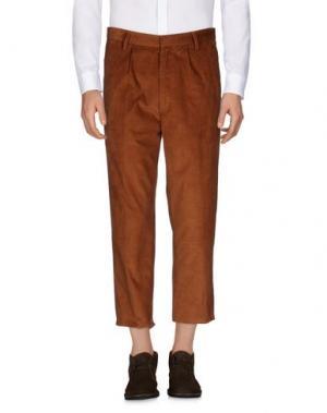 Повседневные брюки COVERT. Цвет: коричневый