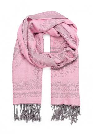 Палантин Pur. Цвет: розовый