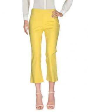 Повседневные брюки FASHION. Цвет: желтый