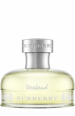 Парфюмерная вода Weekend Burberry. Цвет: бесцветный