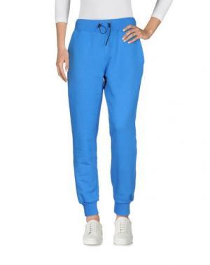 Повседневные брюки HYDROGEN. Цвет: лазурный