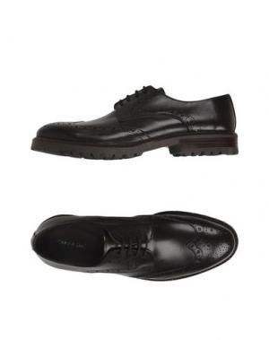 Обувь на шнурках PIERRE DARRÉ. Цвет: темно-коричневый