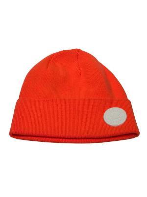 Шапка SPRING SHORT DOME WATCHCAP Converse. Цвет: оранжевый