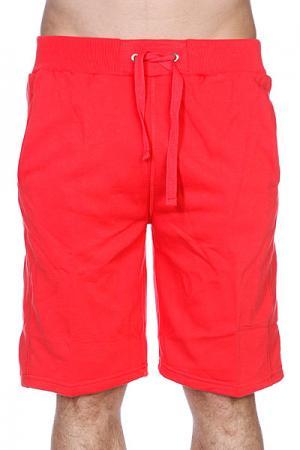 Классические мужские шорты ight Fleece Sweatshorts Infrared Urban Classics. Цвет: розовый