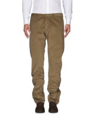 Повседневные брюки CANTARELLI. Цвет: бежевый