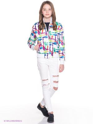 Куртка Orby. Цвет: белый