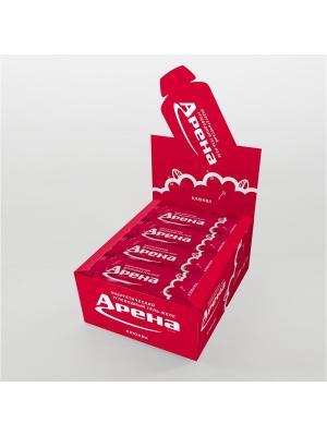 Углеводный гель Арена Первая со вкусом клюквы, 24 штуки в упаковке. Цвет: желтый