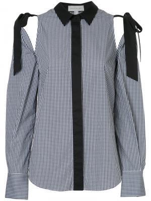 Рубашка Sebastiano с завязками на плечах Rebecca Vallance. Цвет: чёрный