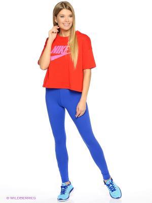 Леггинсы W NSW LEG A SEE JDI Nike. Цвет: темно-синий
