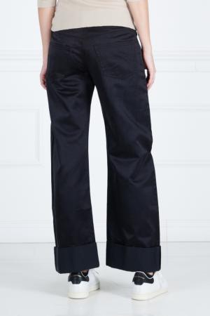 Однотонные брюки Giambattista Valli. Цвет: зеленый