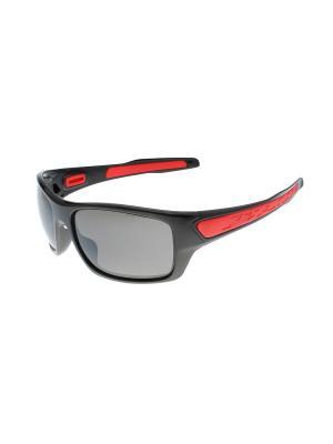 Солнцезащитные очки Gusachi. Цвет: черный, красный