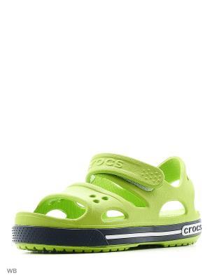 Сандалии CROCS. Цвет: светло-зеленый