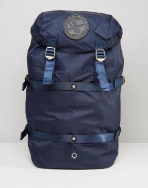 Stighlorgan Рюкзак с кожаной отделкой Conn 210D. Цвет: темно-синий