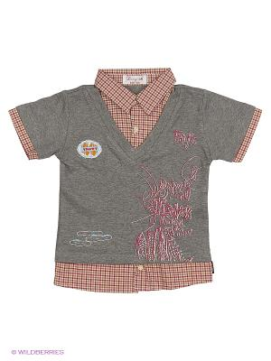 Рубашка DAMY-M. Цвет: светло-коралловый