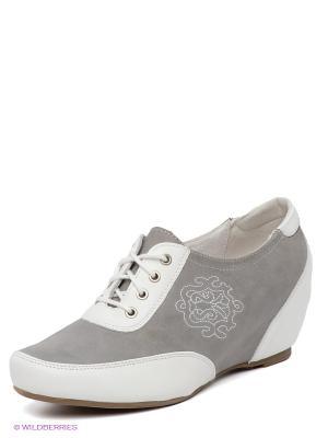 Туфли Spur. Цвет: серый, белый