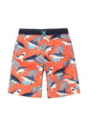 Шорты для плавания Gap. Цвет: оранжевый