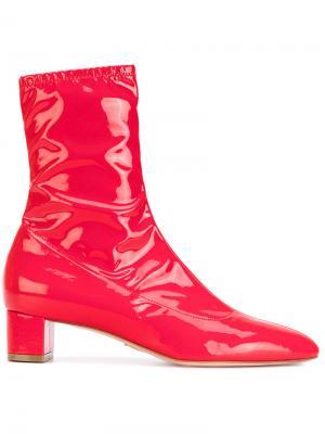 Лакированные ботинки Emme Oscar Tiye. Цвет: красный