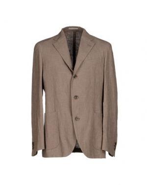 Пиджак ALAIN FRACASSÍ. Цвет: голубиный серый