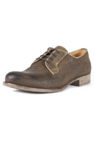 Туфли-дерби BORBONIQUA. Цвет: brown