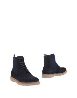 Полусапоги и высокие ботинки GUARDIANI DRIVE. Цвет: темно-синий