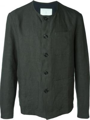 Пиджак с круглым вырезом Société Anonyme. Цвет: зелёный