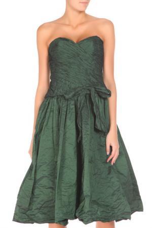 Платье Groupe JS. Цвет: изумрудный