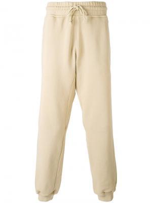Классические спортивные брюки Yeezy. Цвет: телесный