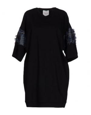 Короткое платье MARIUCCIA. Цвет: черный