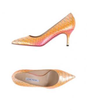 Туфли LUCIANO PADOVAN. Цвет: оранжевый