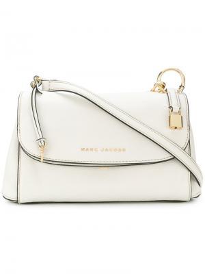 Большая сумка через плечо Marc Jacobs. Цвет: белый