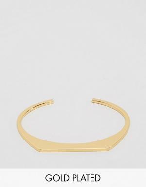 Gorjana Позолоченный браслет-манжета Mila. Цвет: золотой
