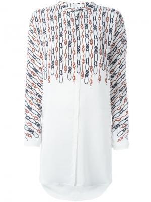 Рубашка Elsie Equipment. Цвет: белый