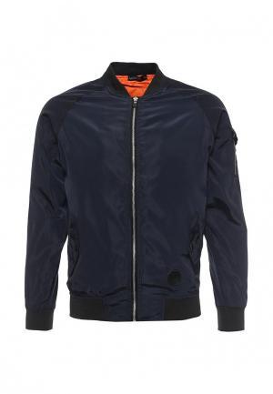 Куртка Aarhon. Цвет: синий