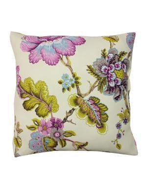 Декоративная подушка Naturel. Цвет: молочный, голубой, розовый