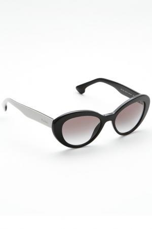 Очки солнцезащитные Prada. Цвет: 1ab0a7