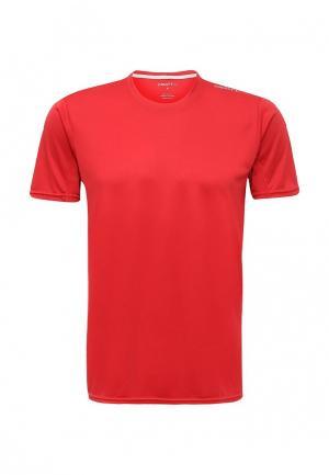 Футболка спортивная Craft. Цвет: красный