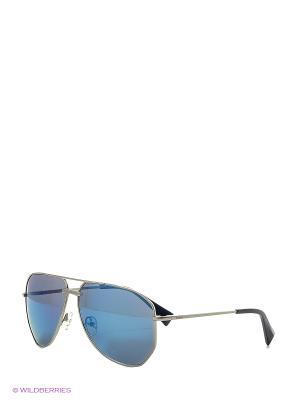 Солнцезащитные очки BLD 1620 101 Baldinini. Цвет: серебристый