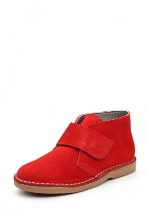 Ботинки Barritos. Цвет: красный