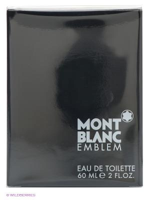 Туалетная вода EMBLEM FOR MEN 60 мл. Montblanc. Цвет: черный