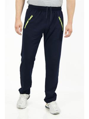 Спортивные брюки CROSS sport. Цвет: темно-синий