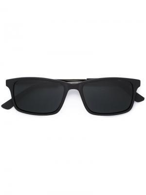 Солнцезащитные очки Christian Koban. Цвет: чёрный